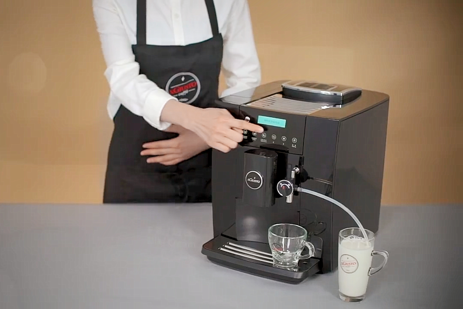 圣图M5-2家用全自动咖啡机